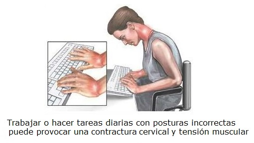 Tratamiento contractura cervical